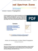 An Introduction to Indoor Radio Propagation