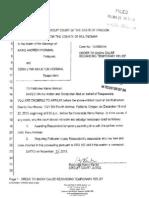 Horman Divorce Documents NOV 2013