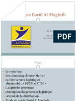 Logistique Barid Al Maghrib