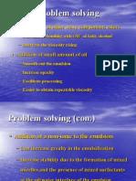 Some Problems Formulation
