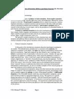 Neurologic Examination of Sensation Reflexes and Motor Function