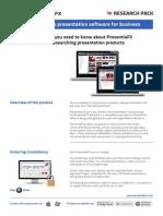PresentiaFX Presentation Software