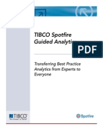 TIBCO Spotfire Guided Analytics