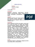 Língua-de-vaca - Chaptalia nutans [L.] Polak. -  Ervas Medicinais – Ficha Completa Ilustrada