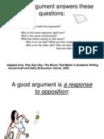 sentence frames for argumentation