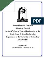 Imp Adaptive Control