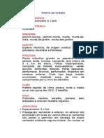 Murta-de-Cheiro - Murraya paniculata (L.) Jack. -  - Ervas Medicinais – Ficha Completa Ilustrada