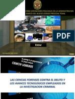 Exposicion Ciencias Forenses Contra Delito y Avances Tecno
