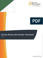 CIS Cisco Wireless LAN Controller 7 Benchmark v1.0.0