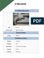 Kerr's Patent Revolver
