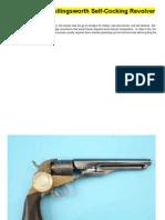 Mershon and Hollingsworth Self-Cocking Revolver