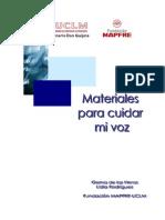 Curso Cuidar La Voz - Mapfre