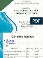 Bai Giang Cac Mang Truyen Thong Vo Tuyen Lop 3va4