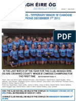 Nenagh Eire Og November edition