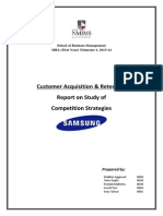 Competition Strategies Samsung
