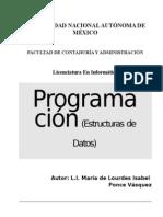 Unidad 03 - Estructuras de Datos Avanzadas