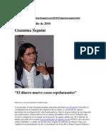 Entrevistas Desde Lima, G.segnini