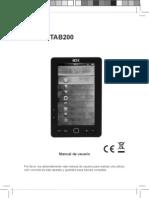 Manual de Usuario - TAB100-TAB200
