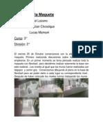 Informe de La Maqueta