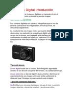 Fotografía Digital Introducción