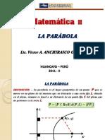 Tema n 3 - Matematica II - Seamana 4 - La Parabola
