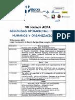 VII Jornadas AEPA - Programa y Ponencias