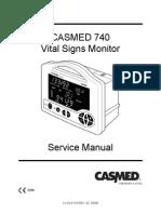 Casmed 740 - Service Manual
