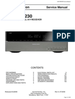 Harman Kardon Avr 255 230l service manual receiver