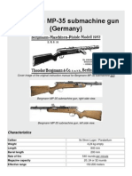 Bergmann MP-35 Submachine Gun (Germany)