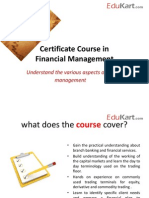 EduKart.com Certificate in Financial Management