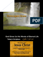 Sermon Slides - Extravagant Grace (Luke 7.36-50)