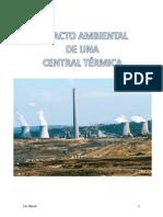 Impacto ambiental central térmica