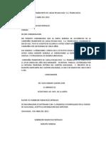 COMPAÑÍA TRANSPORTE DE CARGA PESADA RUIZ  S