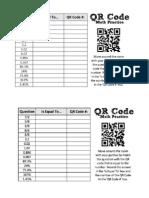 qr code - percents