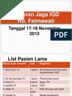Lapjag IGD Fatmawati