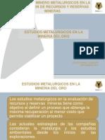 5 - f Nuez - Estudios Metalurgicos Mineria Del Oro