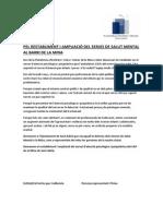 Manifest per l'ampliació del Servei de salut mental al barri de la Mina