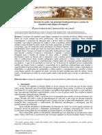 Estudar sobre a educação do surdo um princípio fundamental para o ensino de espanhol com língua estrangeira