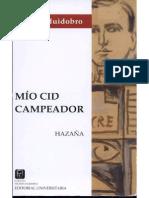 Mio CId Campeador-Vicente Huidobro