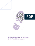 Simplified Guide to Footwear and Tire Tracks