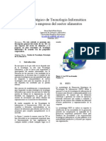 (a) Propuesta Plan Estrategico de Tecnologia Informatica Para Empresa Del Sector Alimentos xKIaBc