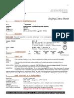 Toluene MegaToluene megaloid Laboratories data sheet