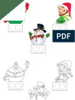 Marionnettes a Doigts Noel