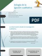 Observacion en La Investigacion Cualitativa