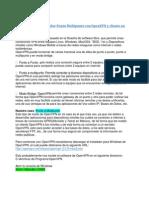 Como configurar servidor Punto Multipunto con OpenVPN y cliente en Windows ó Linux