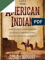 American Indian, The - R. J. Rushdoony