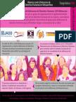 INFOGRAFÍAS DIAGNÓSTICO 2012. Violencia contra Defensoras de DDHH en Mesoamérica