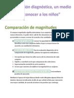Planeación COMPARACIÓN DE MAGNITUDES