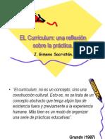 1. Conceptos de Curriculum. Gimeno