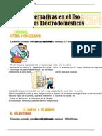 Alternativas en El Uso de Tus Electrodomesticos